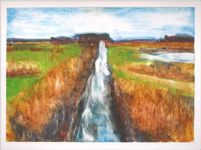 Minsmere Nature Reserve, monotype